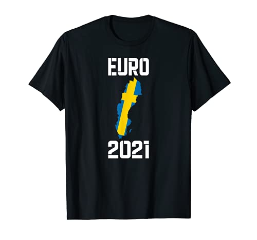 Camiseta Bandera de fútbol de Suecia Camiseta