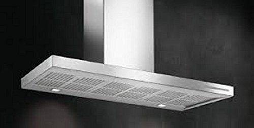 Foster 2504 090 - Campana (800 m³/h, Canalizado, De pared, Acero inoxidable, Acero inoxidable, 20 W)