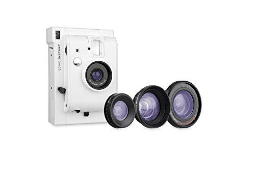 Lomography Lomo'Instant White + 3 Linsen - Instant Film Kamera