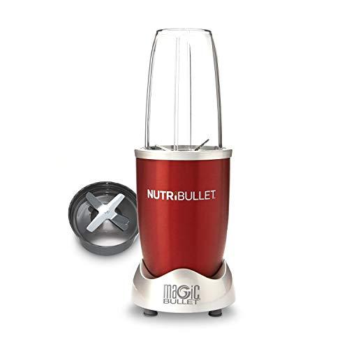 Delimano Nutribullet 600 - Batidora de vaso con extractor (0,7 l, 600 W), color rojo
