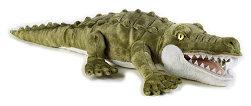 National Geographic 9770719 Krokodil Plüschtier, grün
