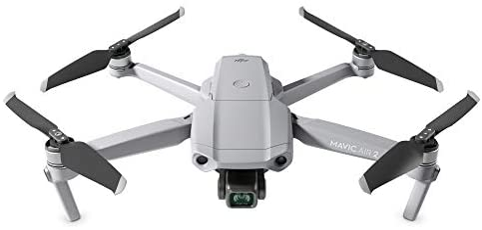 "DJI Mavic Air 2 Fly More Combo - Drone Quadcopter UAV with 48MP Camera 4K Video 8K Hyperlapse 1/2"" CMOS Sensor 3-Axis Gimbal 34min Flight Time ActiveTrack 3.0 Ocusync 2.0, Gray"