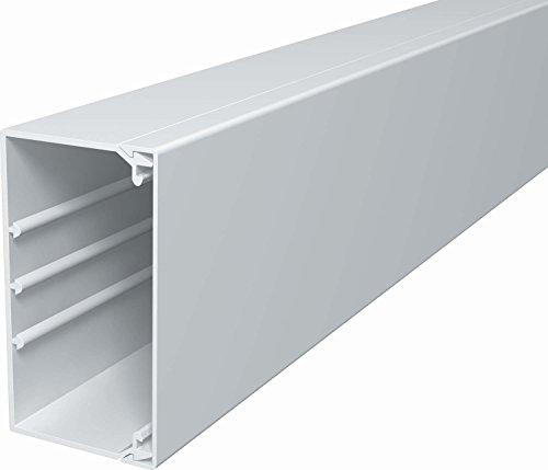 OBO Bettermann WDK60110RW WDK-Kabelkanal PVC reinweiß 60x110x2000mm