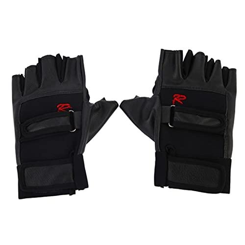 Cuero de la PU deportes guantes bicicleta motocicleta ciclismo montar guantes de levantamiento de pesas equipo de fitness