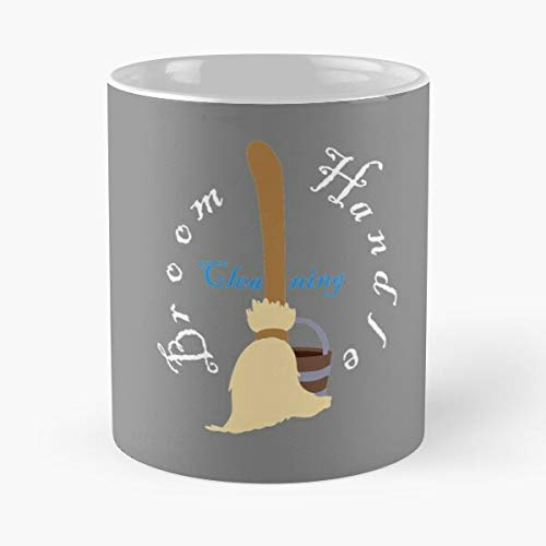 Desconocido Mop Apprentice Vacation Broom Mickey Sorcerers Fantasia Sorcerer Philharmagic Minimalist Taza de café con Leche 11 oz