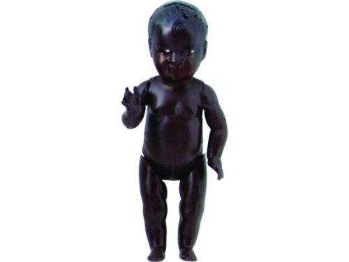 Petitcollin 200608 zwarte pop, meerkleurig