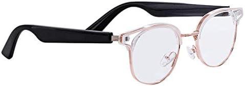HMY Smart Glasses Wireless Bluetooth Hands-Free Calling Audio Open Ear Anti-Blue Light Lenses Glasses Bluetooth 5.0