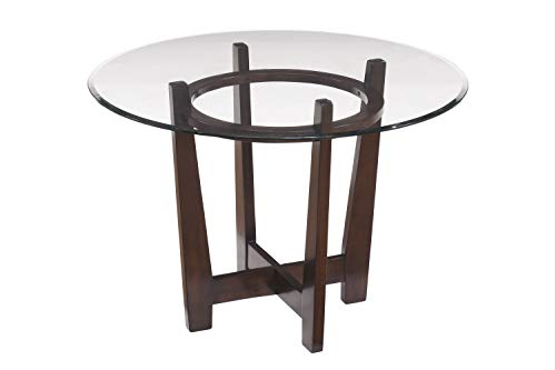 Signature Design by Ashley Charrell Dining Room Table, Medium Brown