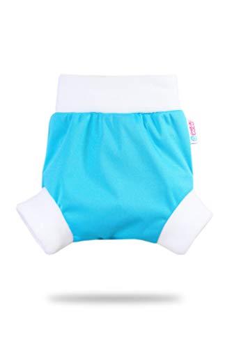/Étanche Culotte de Protection Couches Lavables Fabriqu/é en Europe Pull Up Couche Shorty en PUL Petit Lulu Taille M R/éutilisable /& Lavable Blue