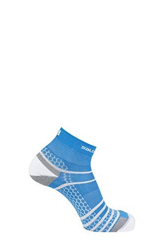 Salomon Standard Socks, White/Transcend Blue, L