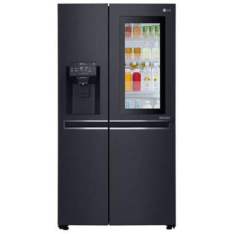 Lg – Kühlschrank Amerikanisch Side By Side GSX961MCVZ Door-in-Door Klasse A++ Kapazität 668 Liter Farbe Schwarz