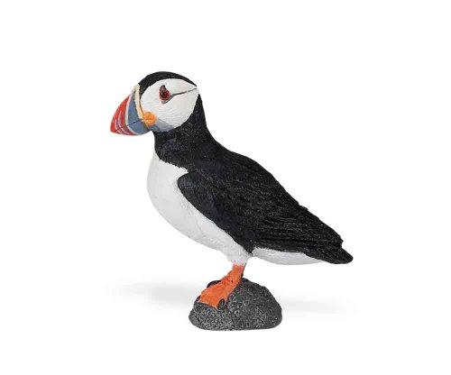 Safari Ltd Flügel der Welt–Atlantic Papageientaucher, realistische handbemalte Figur Spielzeug Modell, Qualität Konstruktion aus Sicher und BPA-Freien Materialien–Für Kinder ab 3und bis