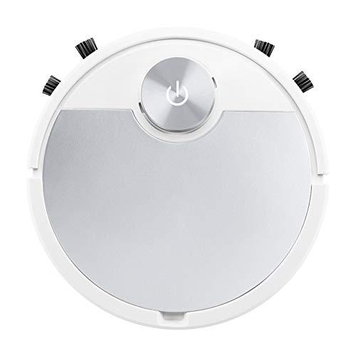 MagiDeal 3-in-1 Staubsaugen und Wischen Roboter mit Smart Bluetooth App Control Reinigung, 2 Farben Optional - Silber