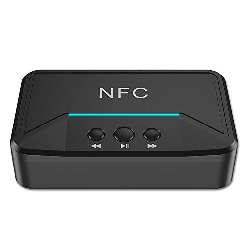 Domybest BT200 NFC Bluetooth 5.0 Receptor de audio 3,5 mm AUX Jack RCA disco USB adaptador de música inalámbrico para amplificador altavoz