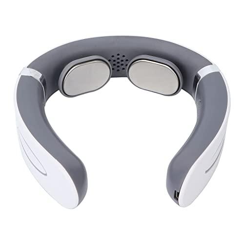 Dispositivo De Masaje para El Cuello, Promoción De La Circulación Sanguínea, Instrumento De Masaje Eléctrico para El Cuello En Forma De Curva del Cuello con Cable USB para El Hogar, para El