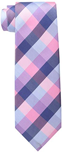 Tommy Hilfiger Men's Buffalo Tartan Tie, Pink, One Size