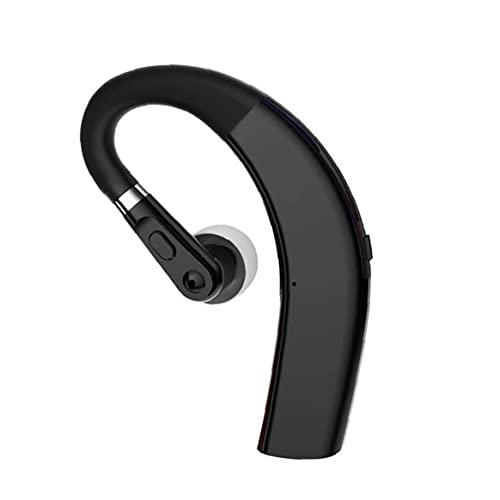 Tuimiyisou Auriculares M11 Auricular inalámbrico de Manos Libres Auriculares para conducción de Oficina de Negocios con micrófono Negro Buen Funcionamiento