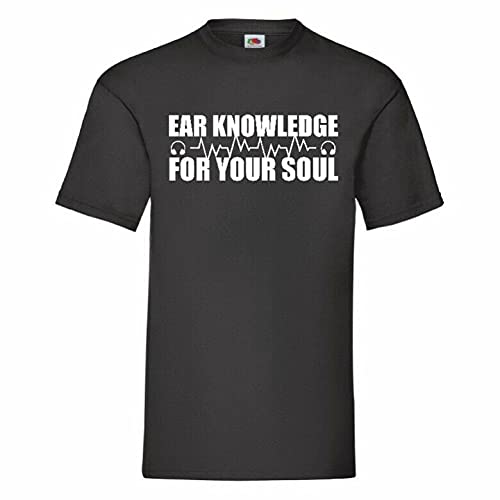 RUI - K25 Ear Knowledge For Your Soul Music T Shirt 12 Colours To Choose FromBlack3XL
