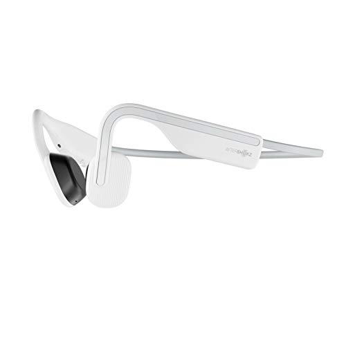 2020 OpenMove AfterShokz オープンムーブ ワイヤレスヘッドホン 骨伝導イヤホン 防水 Bluetoothイヤホン Zoomなどリモート会議 テレワーク 在宅勤務に使用可能 Alpine White