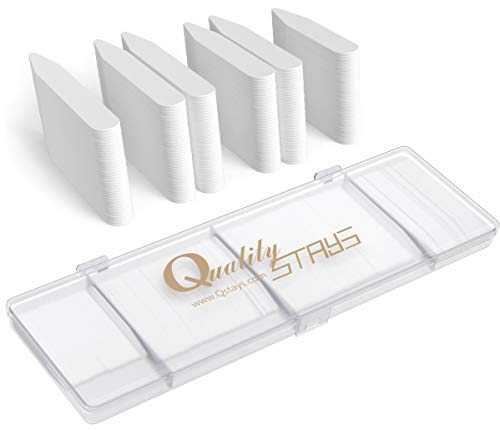 100 Plastic Collar Stays for Men Shirts 2.2 2.5 2.7 or 3 inches 2 White