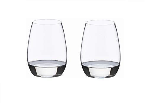 RIEDEL Spirituosenglas-Set, Für edle Brände wie Cognac oder Armagnac, 2-teilig, 235 ml, Kristallglas, O Wine Tumbler, 0414/60