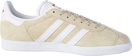 adidas Damen Gazelle W Leichtathletik-Schuh, Savannah FTWR White Glory Red, 38 EU