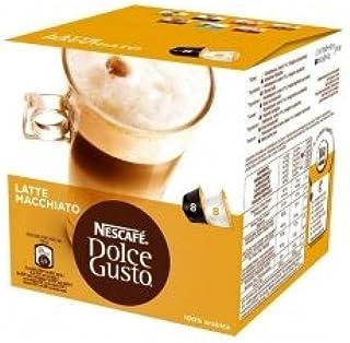 Nescafé - 16 x Dosettes / Capsules de Café Dolce Gusto® - Latte Macchiatto