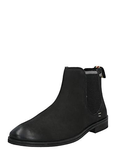 Superdry Herren Meteora Chelsea Boot Klassische Stiefel, Schwarz (Black 02a), 43 EU