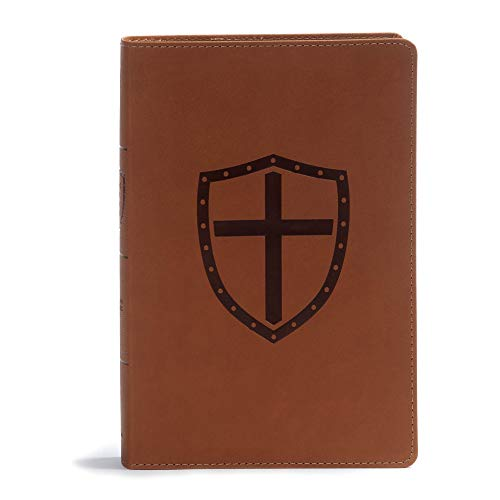 CSB Defend Your Faith Bible, Walnut LeatherTouch: The Apologetics Bible for Kids