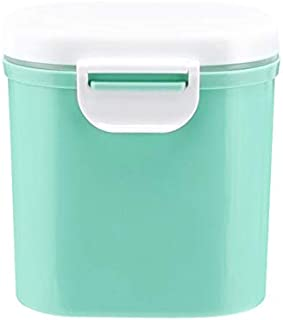 organizador tanque caja de almacenamiento sellada contenedor leche en polvo para beb/és al azar S Port/átil al aire libre de gran capacidad para beb/és caja de recepci/ón