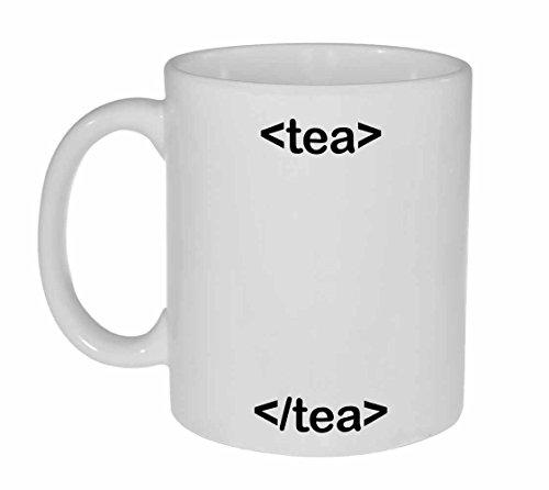 Html Code Tea Mug - Computer Programmer Gift - Neurons Not Included