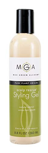 Scalp Rescue Styling Gel 260ML, Organic Unisex Formula Controls Frizz and Fly Away Hair, Curly Hair Community Favorite Gives Flexible Natural Hold, Fights Humidity, Alcohol Free & Water Based