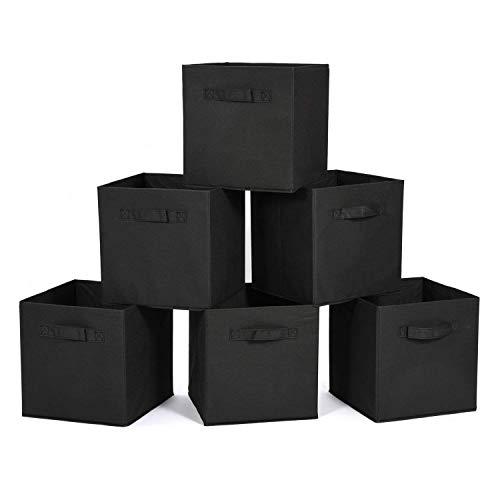 MaidMAX Aufbewahrungsbox in 6er-Set, Kleiderschrank Organizer, Ordnugnsbox Faltbox für Kleidung,...