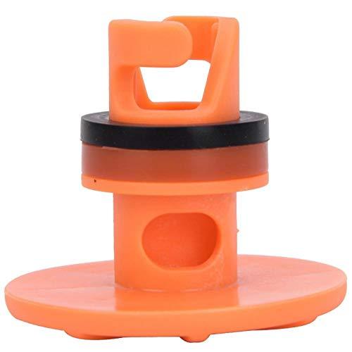 DAUERHAFT Válvula de Paleta portátil compacta de plástico, compacta y portátil, para Tabla de Surf con Prensa fácil y liberación rápida de Aire