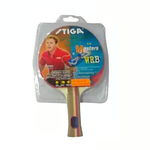 Stiga Masters WRB Table Tennis Bat, 1.7mm