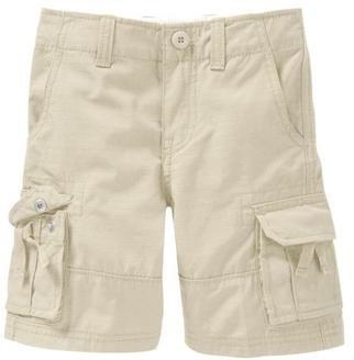 GAP (ギャップ)baby GAP カーゴ ハーフパンツ サイドポケット付 (白色・紺色)【月齢:1歳−1歳半】(並行輸入品) (12-18M(1歳〜1歳半), 紺色)