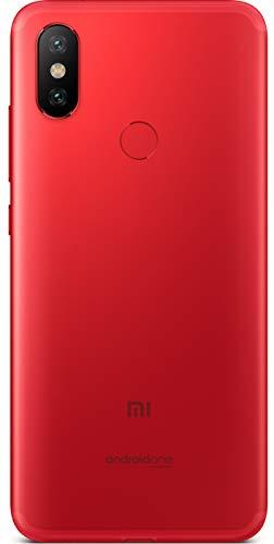 Mi A2 (Red, 4GB RAM, 64GB Storage)