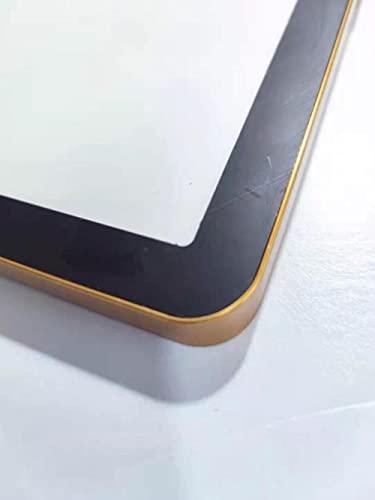 Aleación de aluminio Marco de metal Marco de póster magnético Marco de imagen Dorado Negro Plata Marco de imagen Póster A4 A3 Marco de fotos-Oro negro, A4 (21cmx30cm)