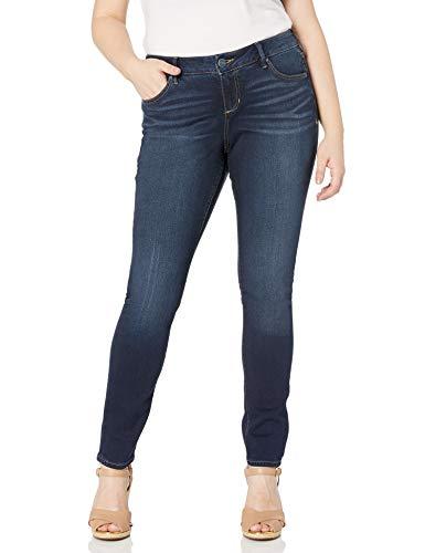 SLINK Jeans Damen Skinny Jeans, bernsteinfarben, 10W