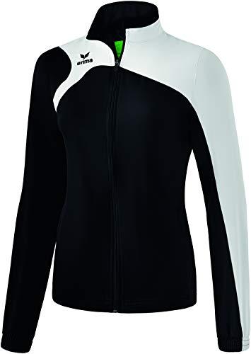 Erima Club 1900 2.0 Veste de présentation Femme, Noir/Blanc, FR : S (Taille Fabricant : 38)