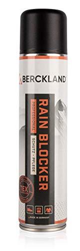 Berckland Rain Blocker Hochleistungs-Imprägnierer für alle Materialien geeignet -Made in Germany- 300ml