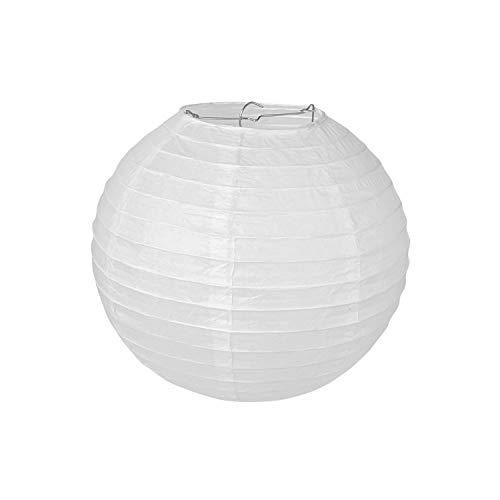 Pajoma 71695–Lámpara de techo, papel, color blanco, 25x 25x 25cm (1unidad)
