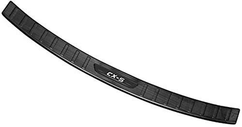 Placa Protectora Parachoques Trasero Acero Para AutomóVil, Moldura Placa Banda Rodadura BaúL Acero Inoxidable Para Mazda CX-5 2017-2020,Parachoques Exterior Cubierta ProteccióN Parachoques