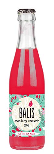 Balis Cosmo Cranberry Rosmarin Limonade 0,33l inkl. 0,15 Euro Mehrwegpfand