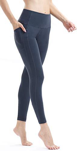 Persit Women's Premium Yoga Pants with Pockets, Non See-Through Tummy Control 4 Way Stretch High Waist Leggings