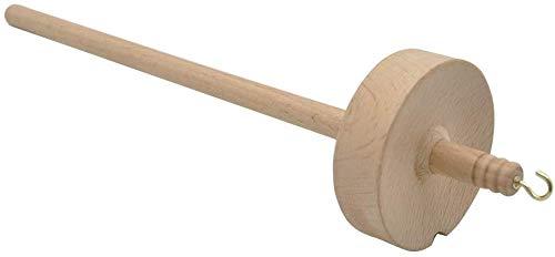 Tangzhan Spindel Top Whorl Garn Spin handgeschnitztes Holz Werkzeug Geschenk für Anfänger
