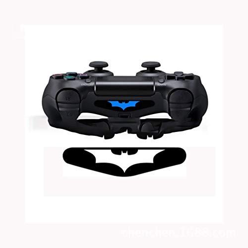 Justdodo 5pcs / Lot personalizó Las Etiquetas engomadas de la Palanca de Mando del Palo para Playstation 4 Barra de luz del regulador del Juego Calcomanías del PVC Pegatinas LED-Negro-1