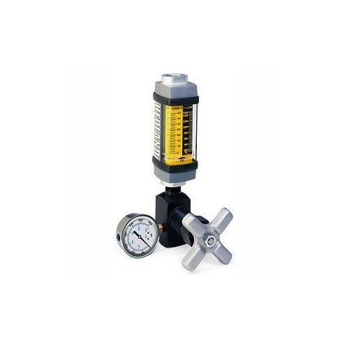 Hedland Flow Meters (Badger Meter Inc) H761S-050-TK - Flow Rate Hydraulic Flow Meter - 50 gpm Max Flow Rate, SAE-16 1 NPTF in Port Size