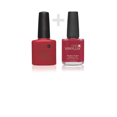 CND Duo Kit - CND Shellac Wildfire + CND Vinylux Wildfire