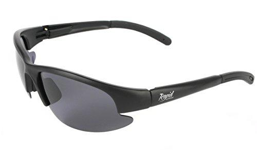 Rapid Eyewear TRANSITION SPORTS GAFAS DE SOL para hombre y mujer con lentes fotocromáticas que oscurecen con la luz (Clear – Cat 3). Para conducir, ciclismo, correr y otros deportes. Protección UV400